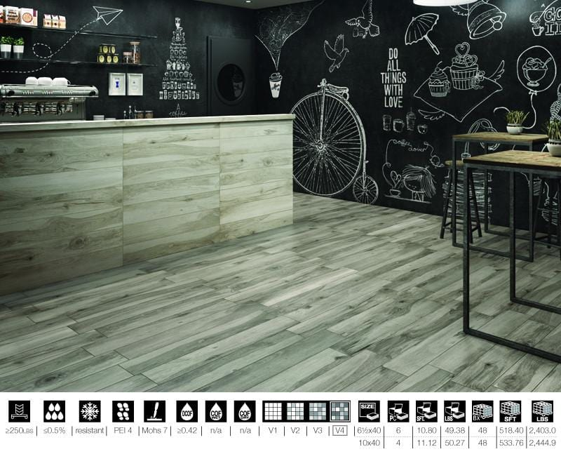 10ALWO40-TEA 10x40 Porcelain Tile