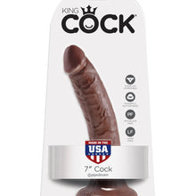 King Cock  7 Cock  Brown