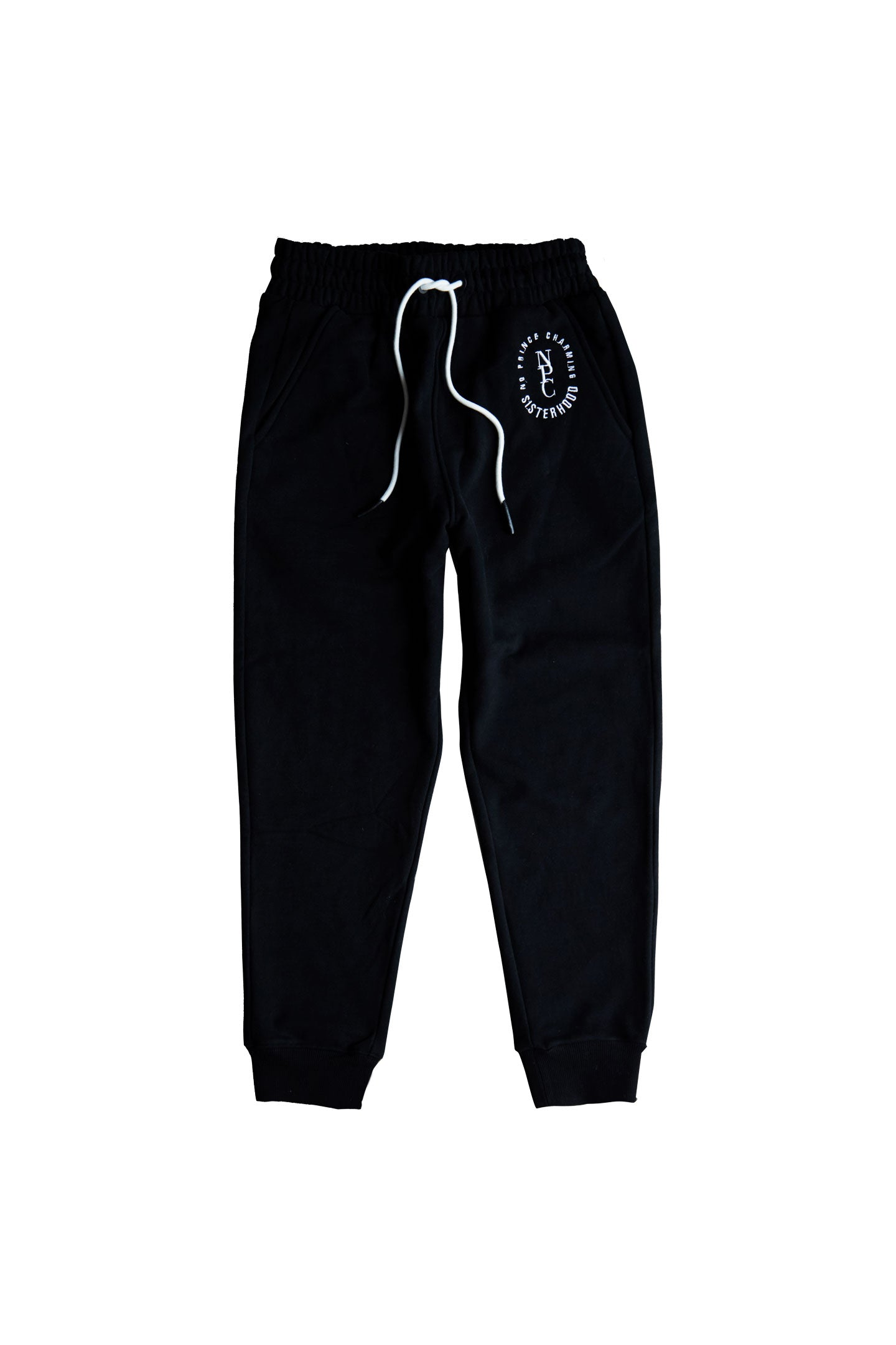 COTTON JOGGERS - BLACK