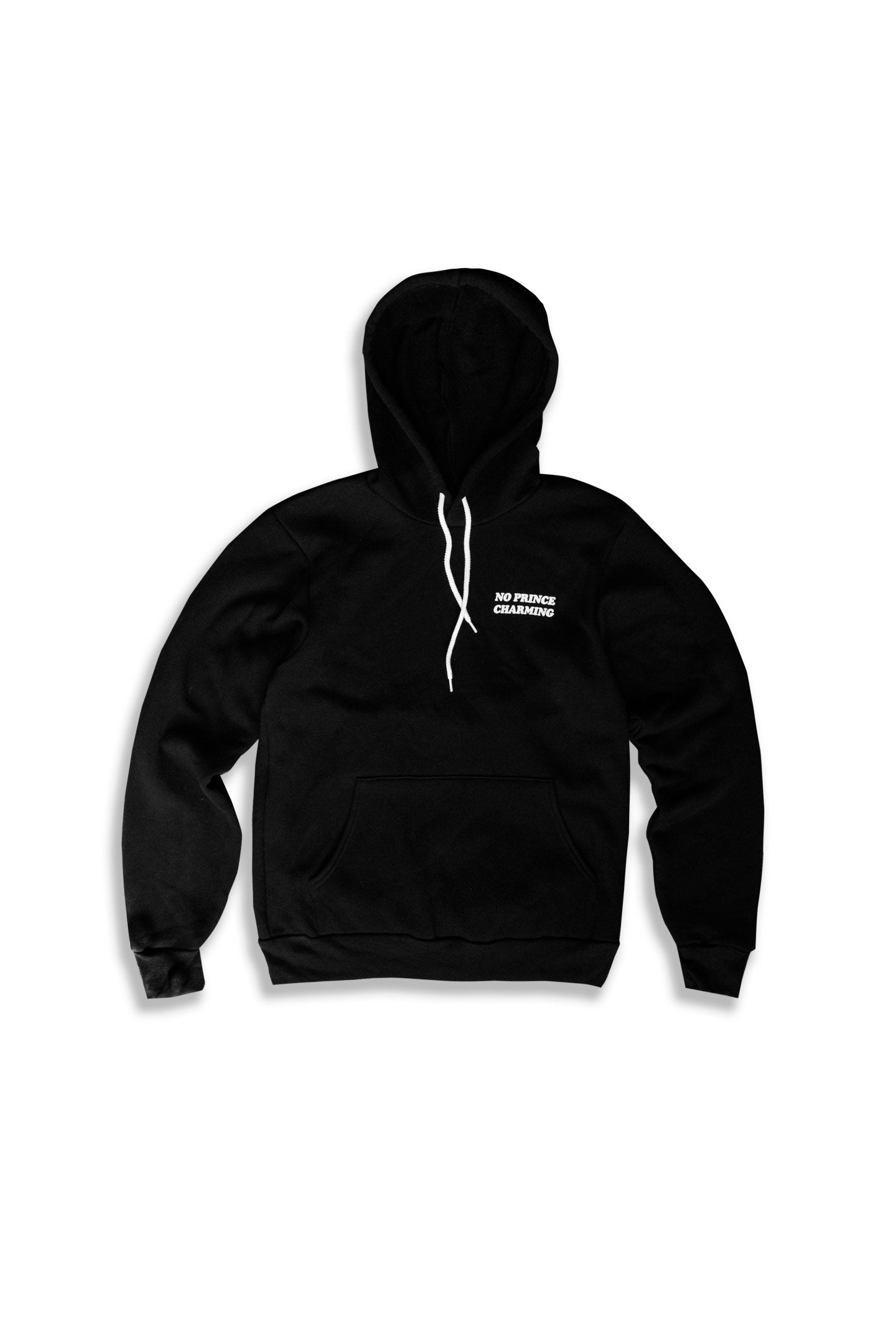 PRINCESS SAVES HERSELF FULL LENGTH HOODIE - BLACK