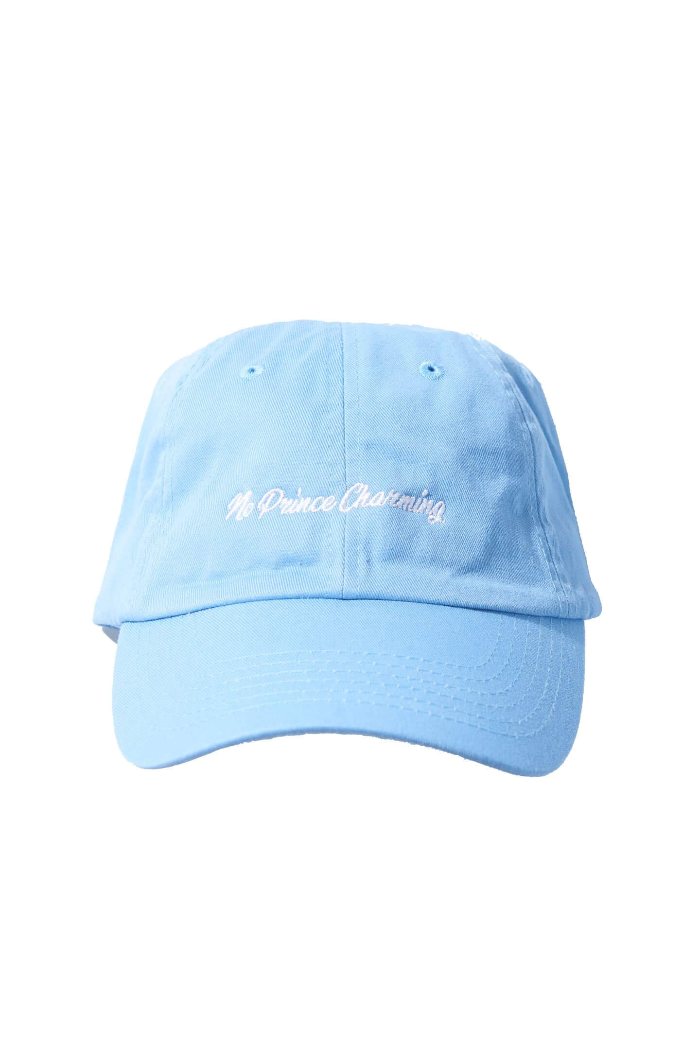 "NO PRINCE CHARMING ""DAD CAP"" - SKY BLUE"