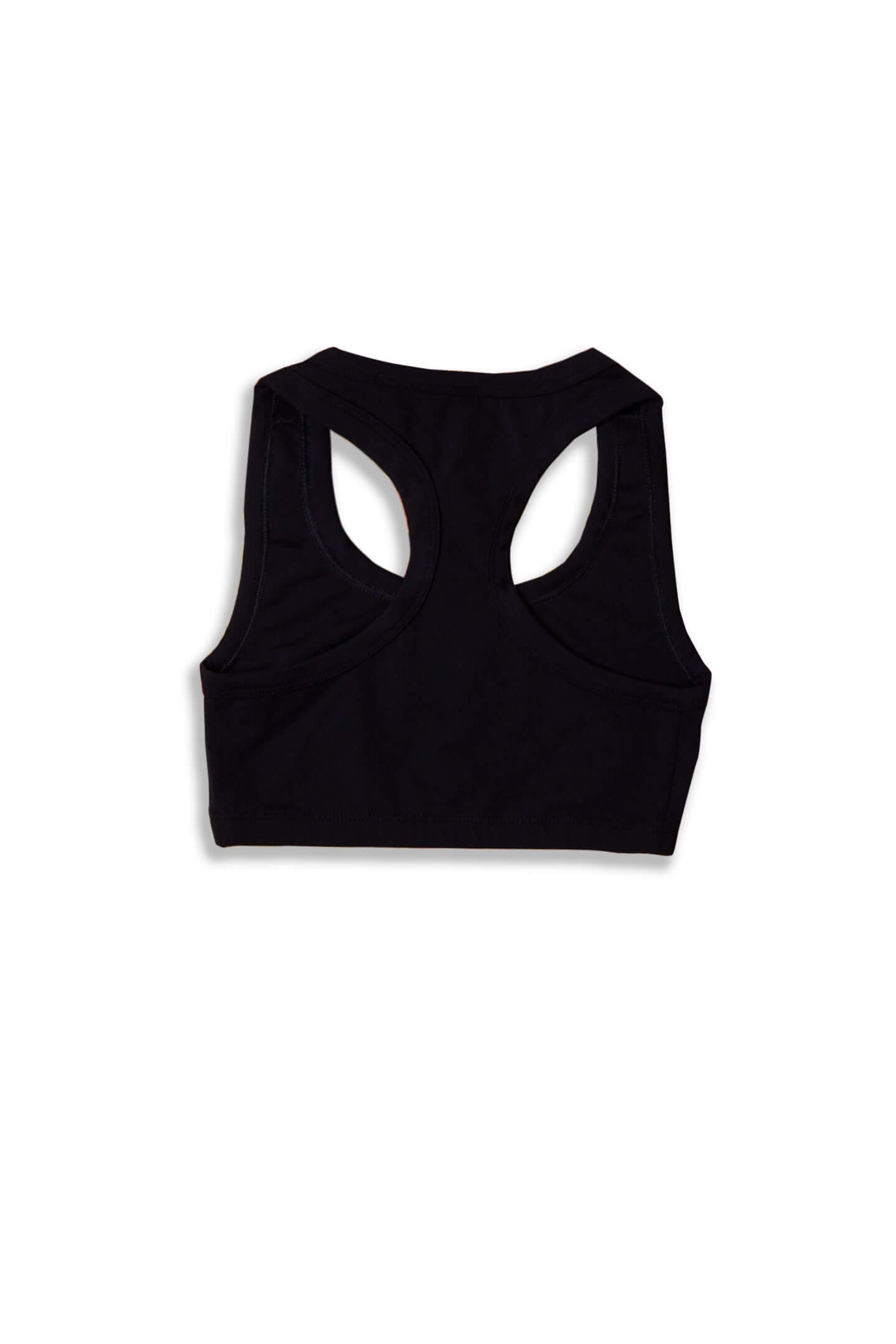 NO PRINCE CHARMING SPORTS BRA - BLACK