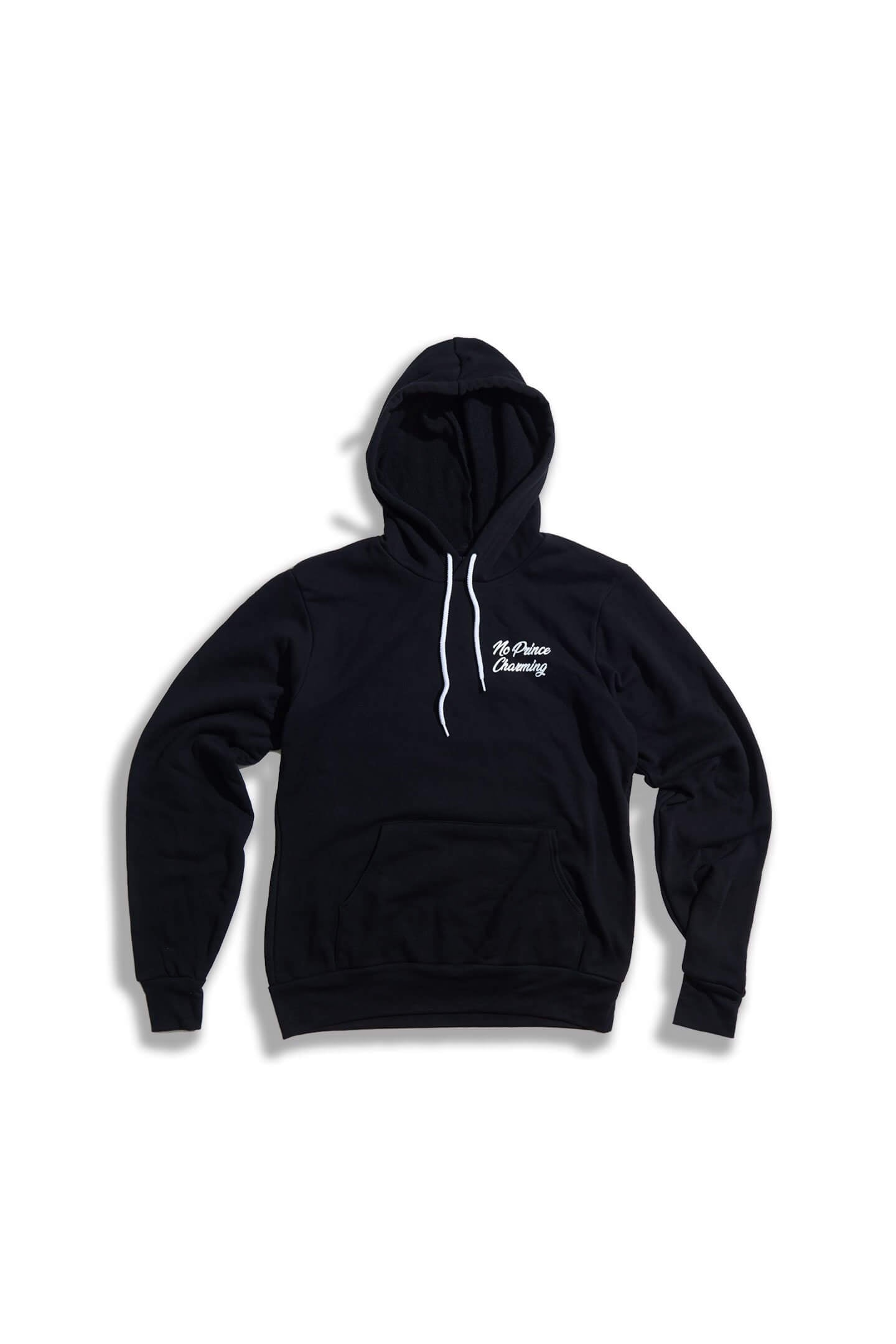 A BEAUTY AND A BEAST FULL LENGTH HOODIE - BLACK