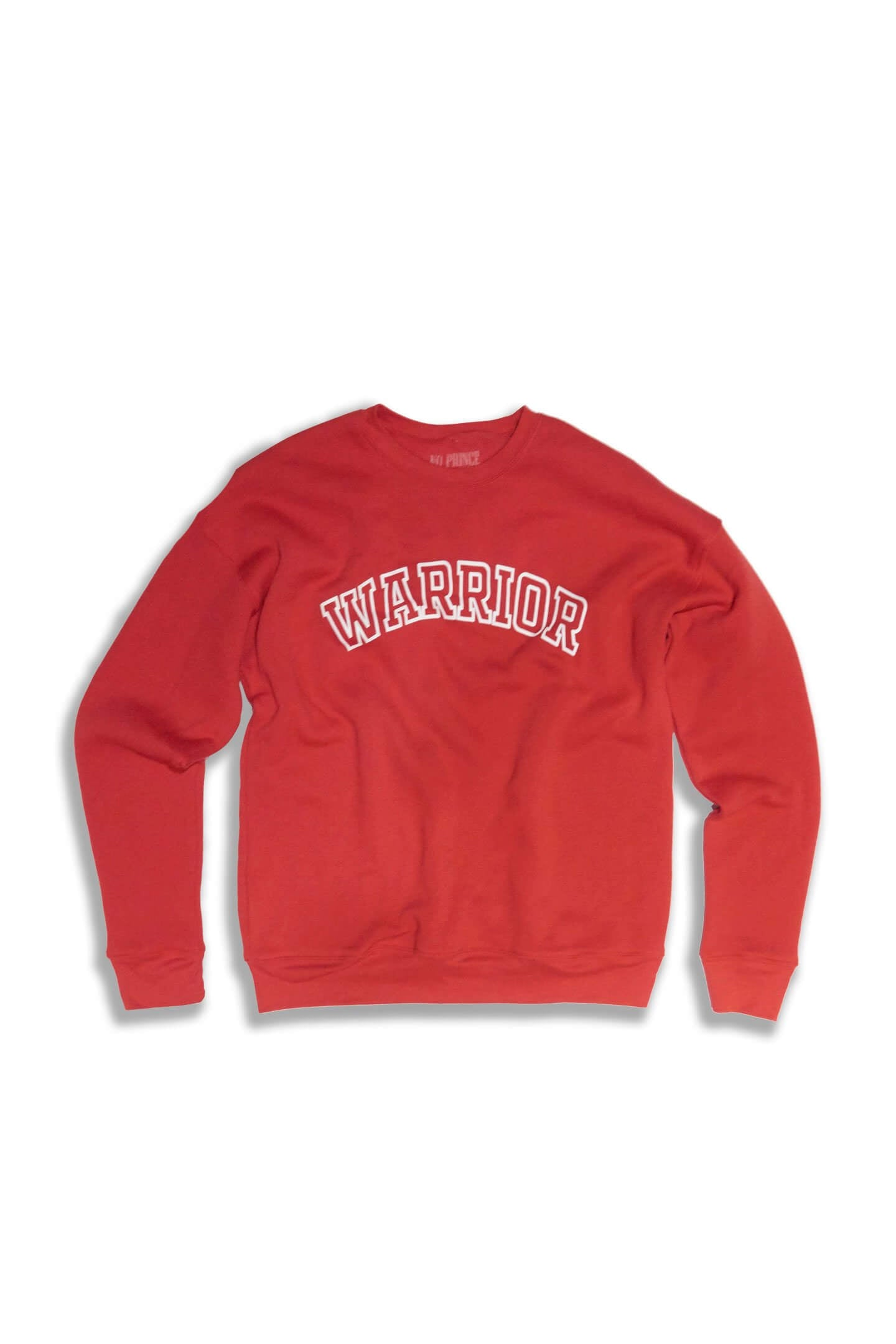WARRIOR DROP SHOULDER SWEATSHIRT - RED