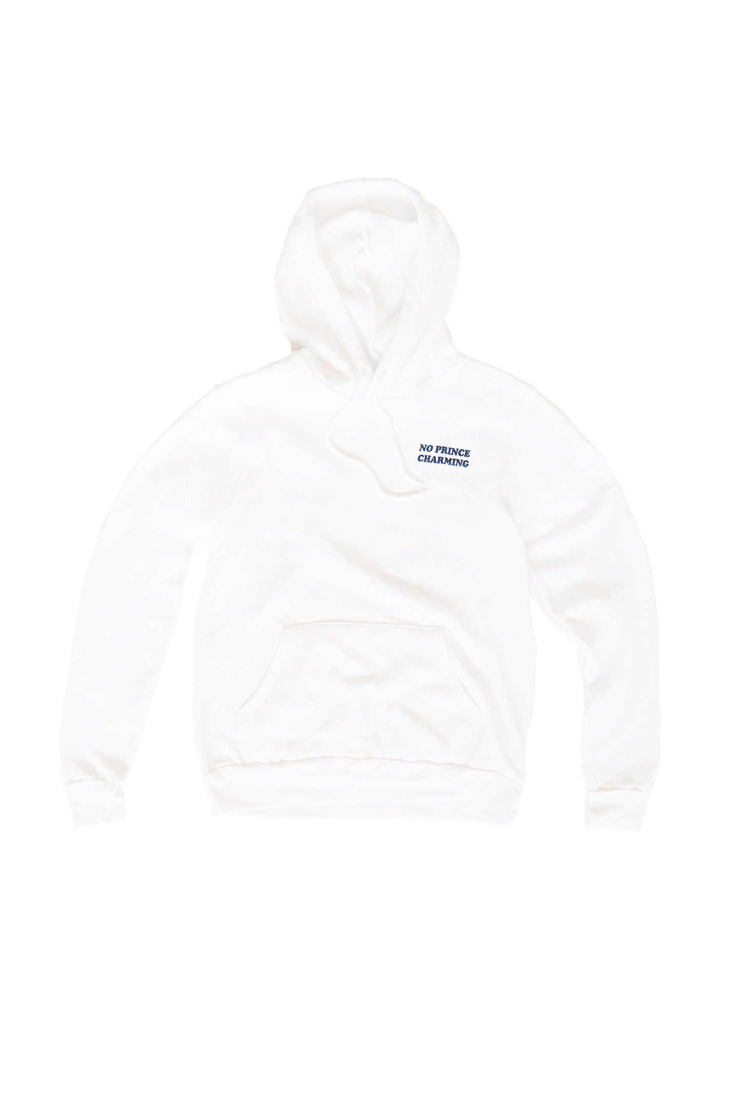PRINCESS SAVES HERSELF FULL LENGTH HOODIE - WHITE