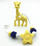 Lovable Giraffe Baby Teether <3