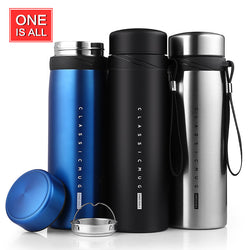 900ml Thermal Cup  Vacuum Flask Heat Water Tea Mug Thermos Coffee Mugs Insulated Stainless Steel Vacuum Flask Thermos Travel Cup