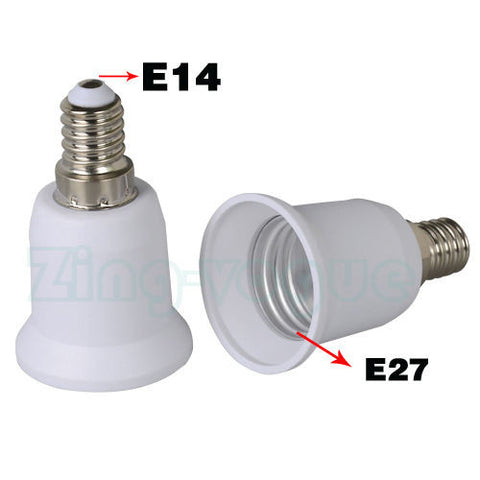 E14 to E27 Adapter