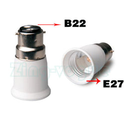 E27 to Bayonet Adapter