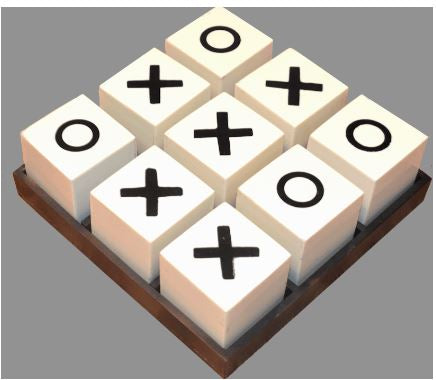 Bone Tic Tac Toe Set