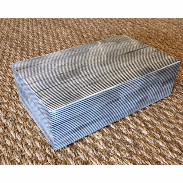 Grey Lined Box - Medium