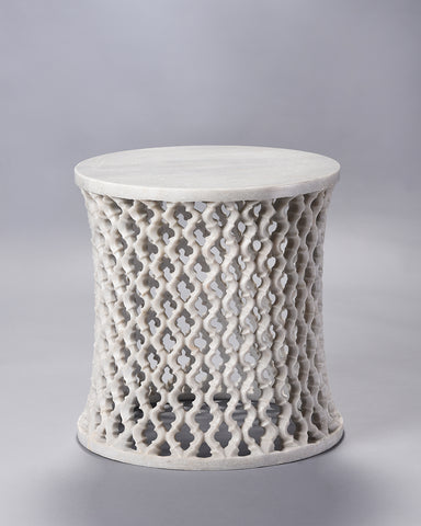 Marble Round Jali Table