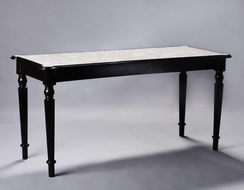 MOP Colonial Overlay Console Table