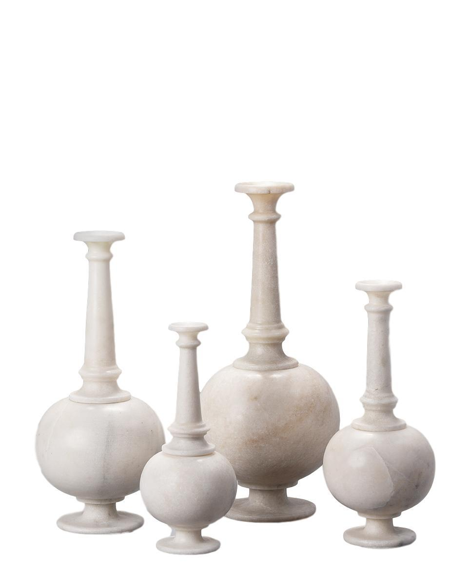Marble Surai Vases - Set of 4