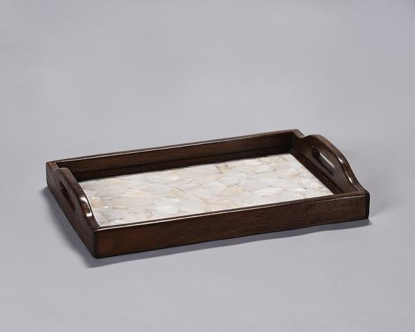 Wood Serving Tray with MOP
