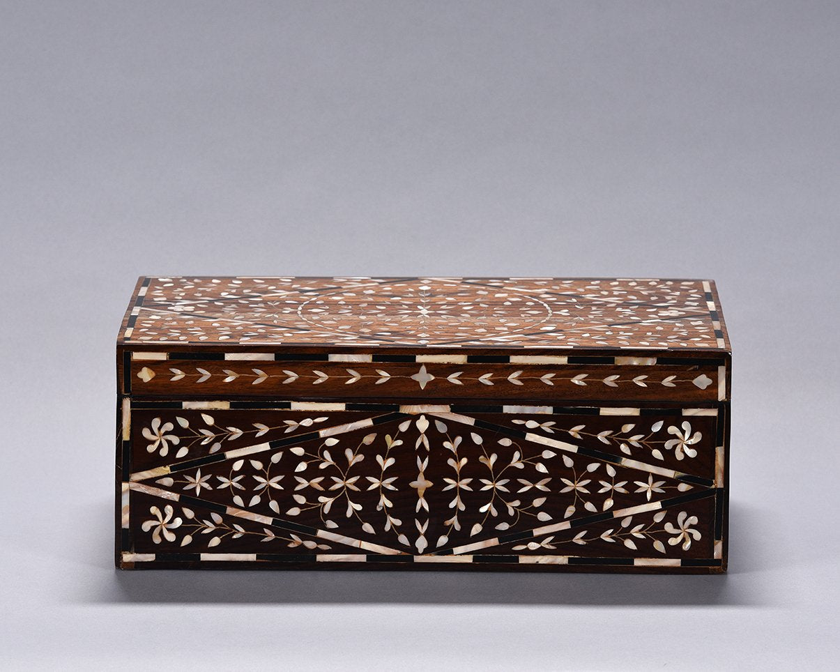 Mother of Pearl Inlaid Box - Large
