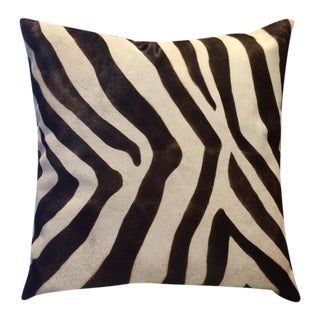 Zebra Pillow -Large