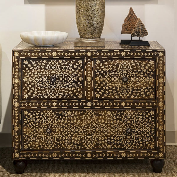 MOP Inlay Nightstand