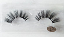 Chantaal 3D synthetic mermaid lashes