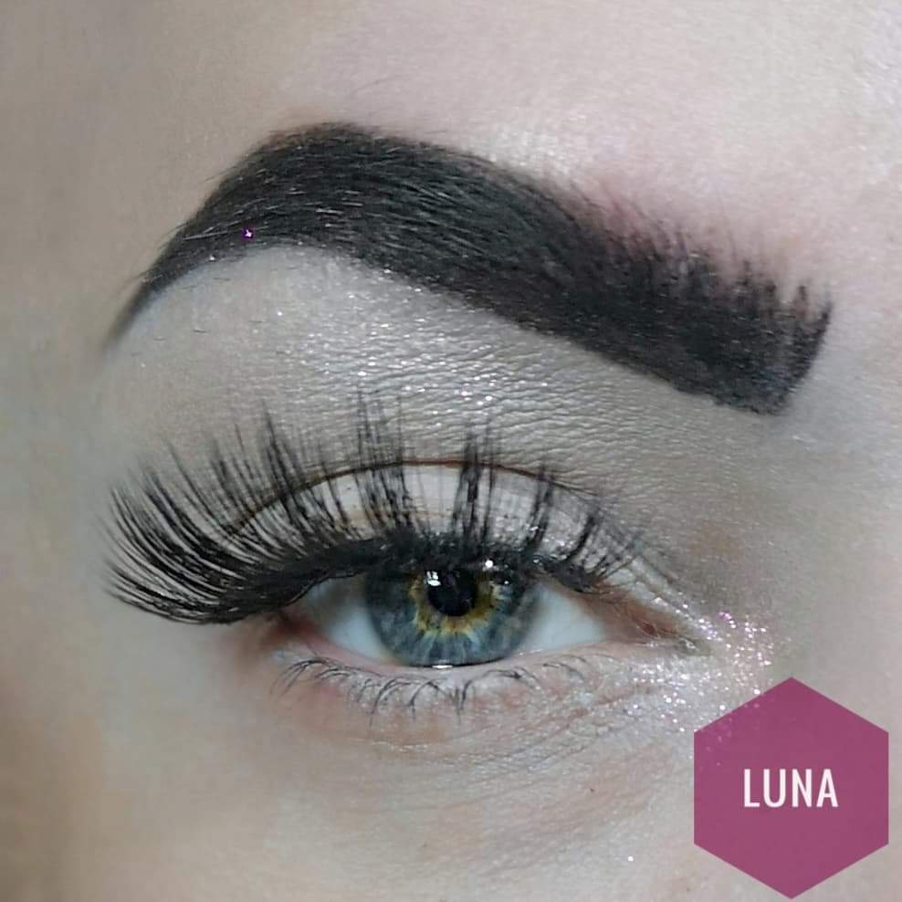 Luna 3D synthetic mermaid lashes