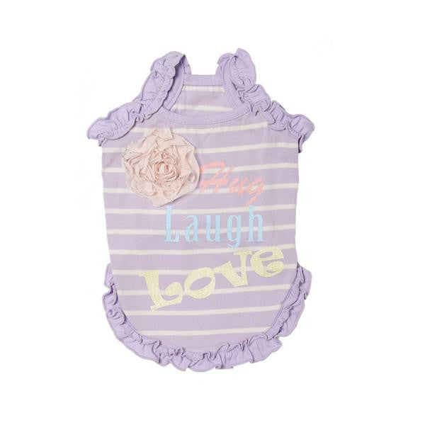 Puppy Angel | Grace Petal Corsage Dress - The Gorgeous Pet Boutique UK