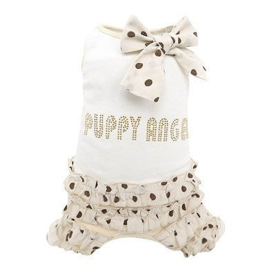 Puppy Angel | Frilled Dog Overalls - The Gorgeous Pet Boutique UK