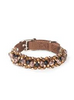 Fabuleash | Leopard Beaded Dog Collar