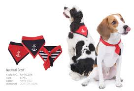 Puppy Angel | Nautical Bandana - The Gorgeous Pet Boutique UK