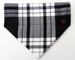 Top Pooch | Menzies Tartan Dog Bandana - The Gorgeous Pet Boutique UK