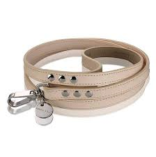 Hennessy and Sons | Natural LV Leather Dog Lead - The Gorgeous Pet Boutique UK