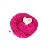 Pretty Pet | Velvet Round Couch Dog Bed - The Gorgeous Pet Boutique UK