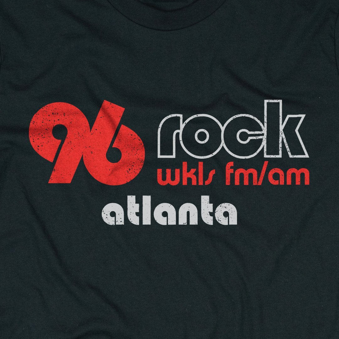 96 Rock Atlanta T-Shirt Graphic Black