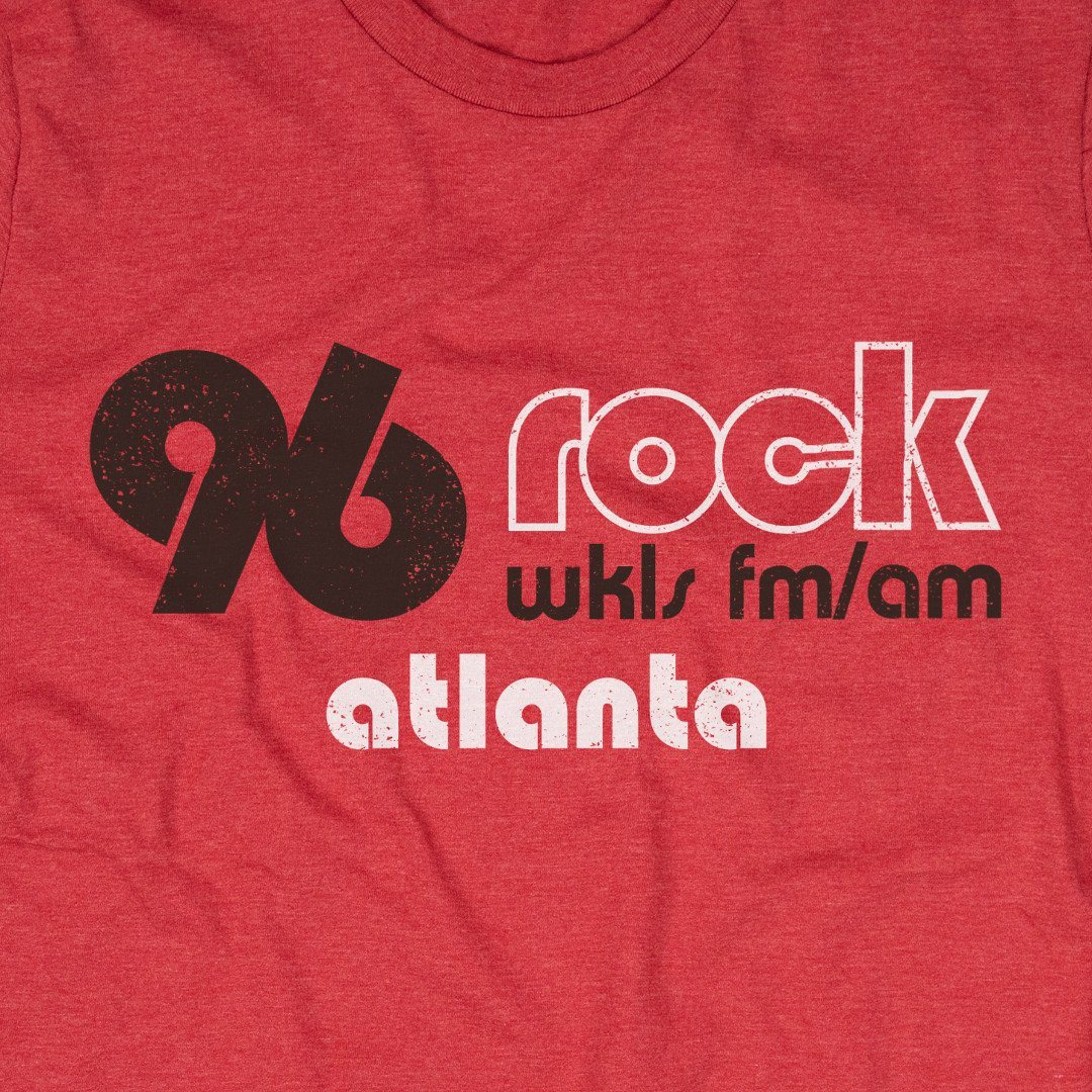 96 Rock Atlanta T-Shirt Graphic Red