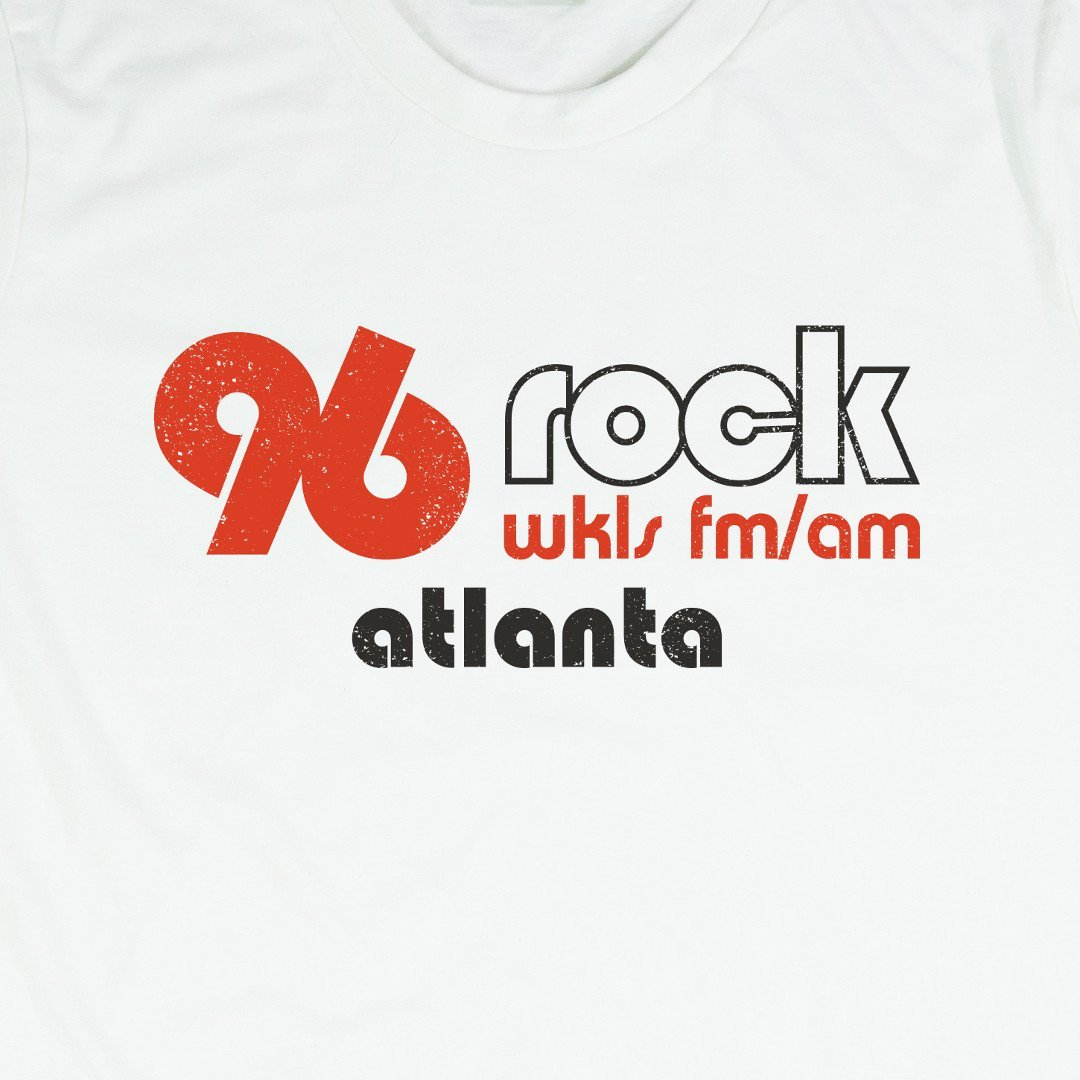 96 Rock Atlanta T-Shirt Graphic White
