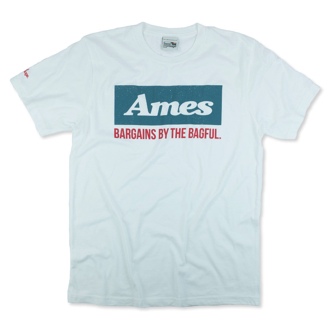 Ames T-Shirt Front White