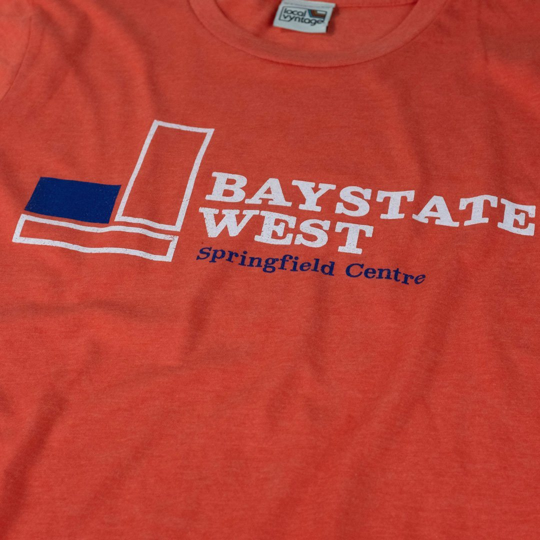Baystate West T-Shirt Detail Orange