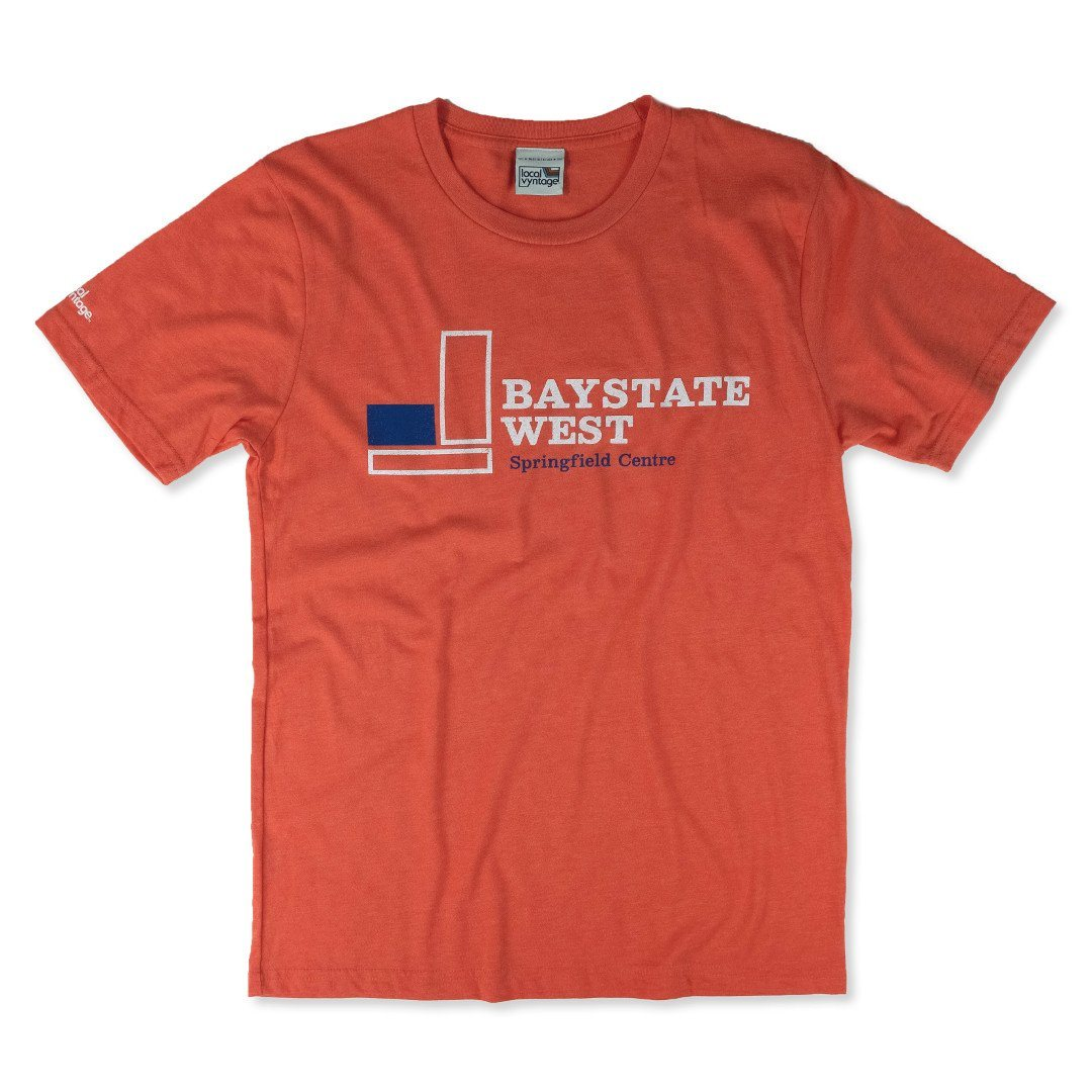 Baystate West T-Shirt Front Orange