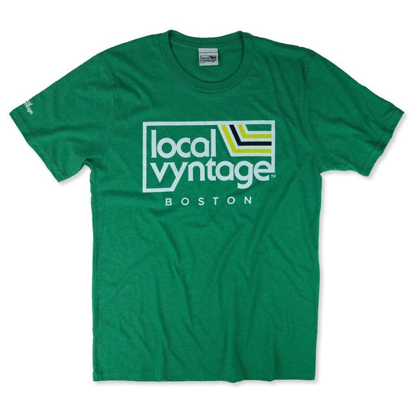 Local Vyntage Boston T-Shirt Front Green