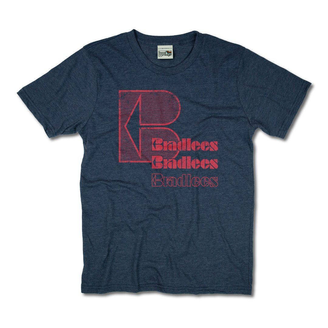 Bradlees T-Shirt Front Dark Blue