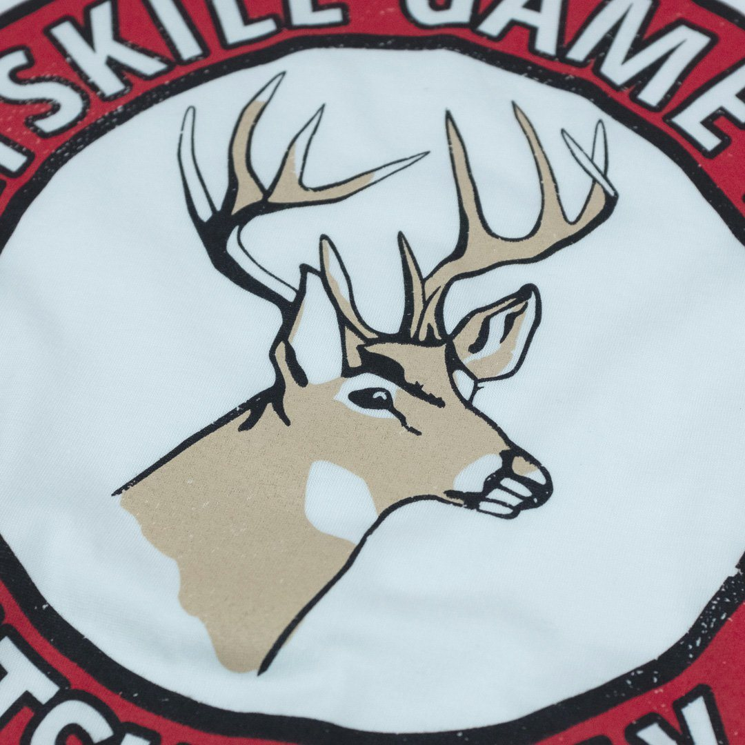 Catskill Game Farm T-Shirt Front Buck