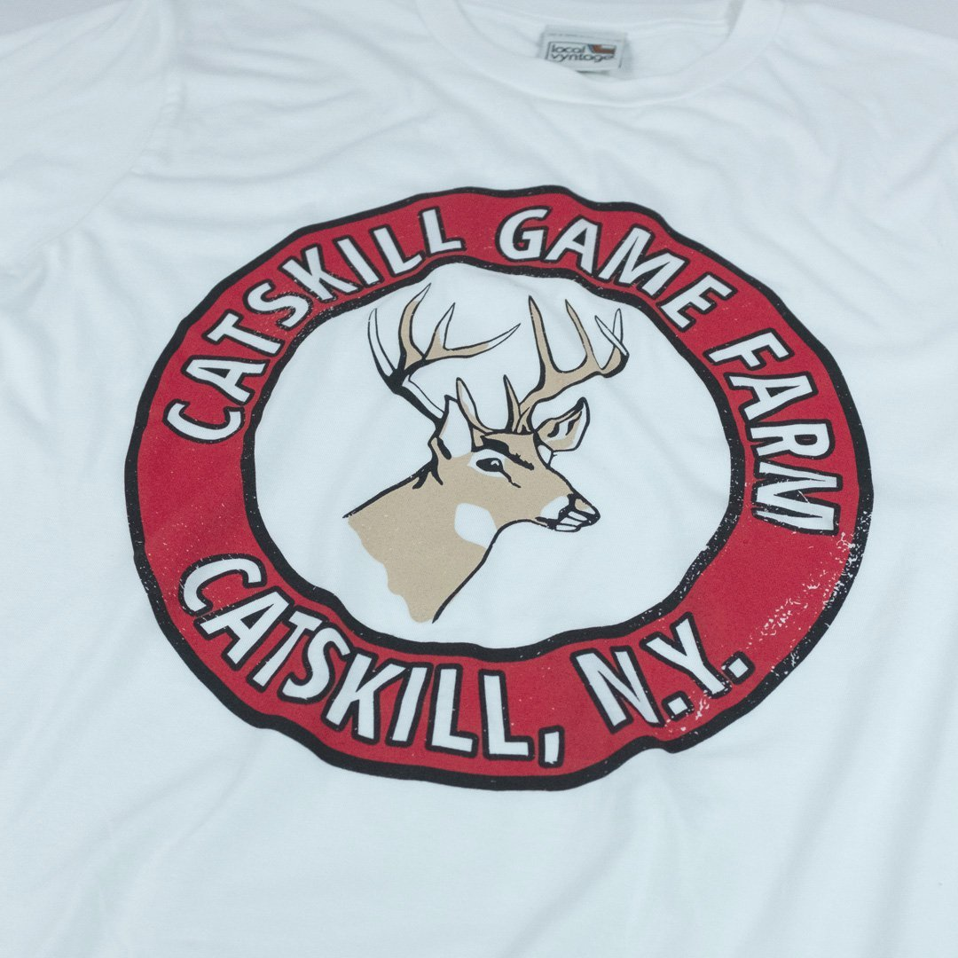 Catskill Game Farm T-Shirt Detail White