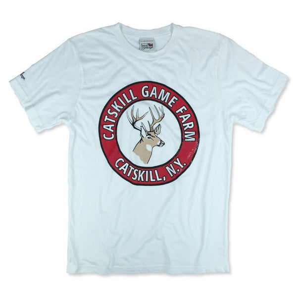 Catskill Game Farm T-Shirt Front White