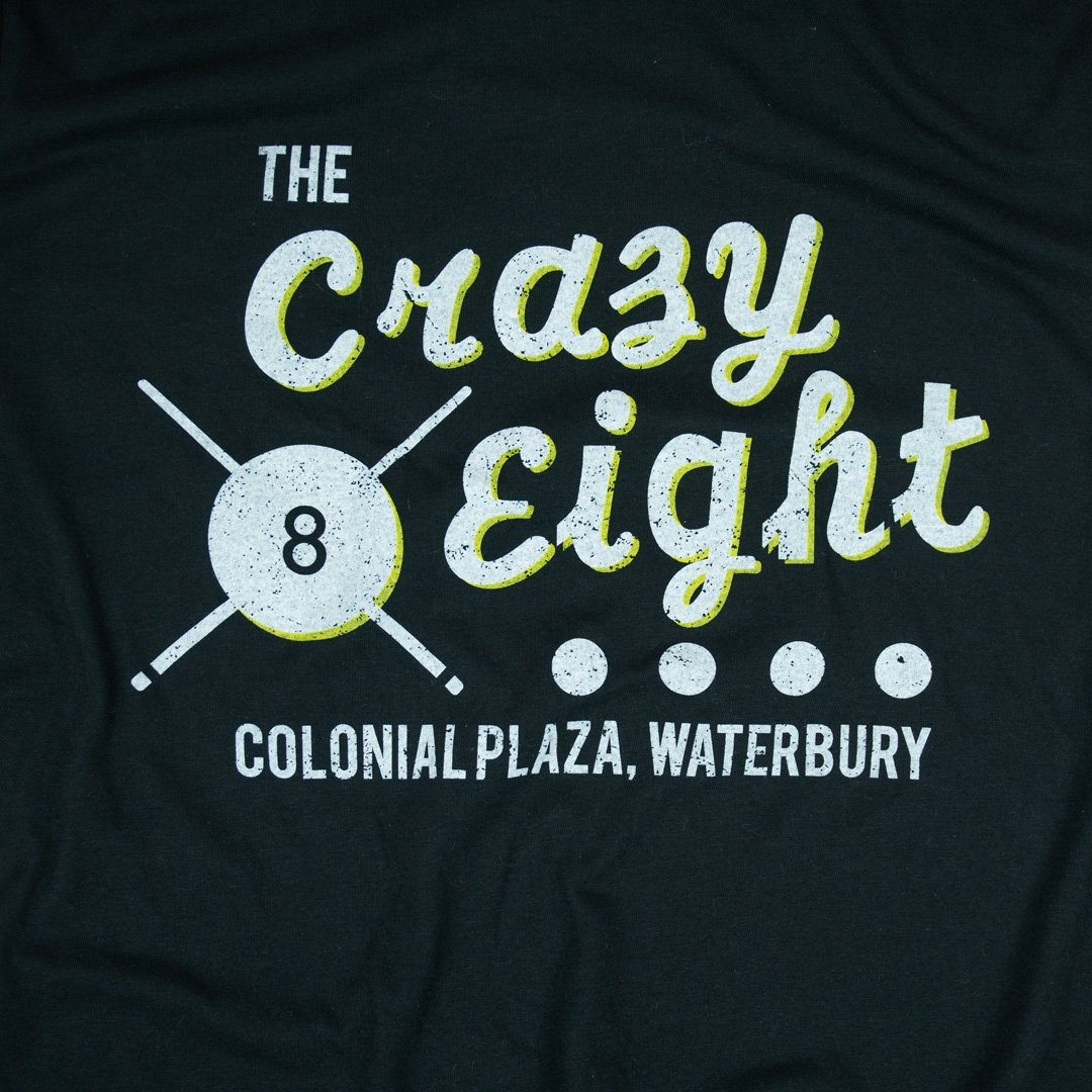 Crazy Eight T-Shirt Graphic Black