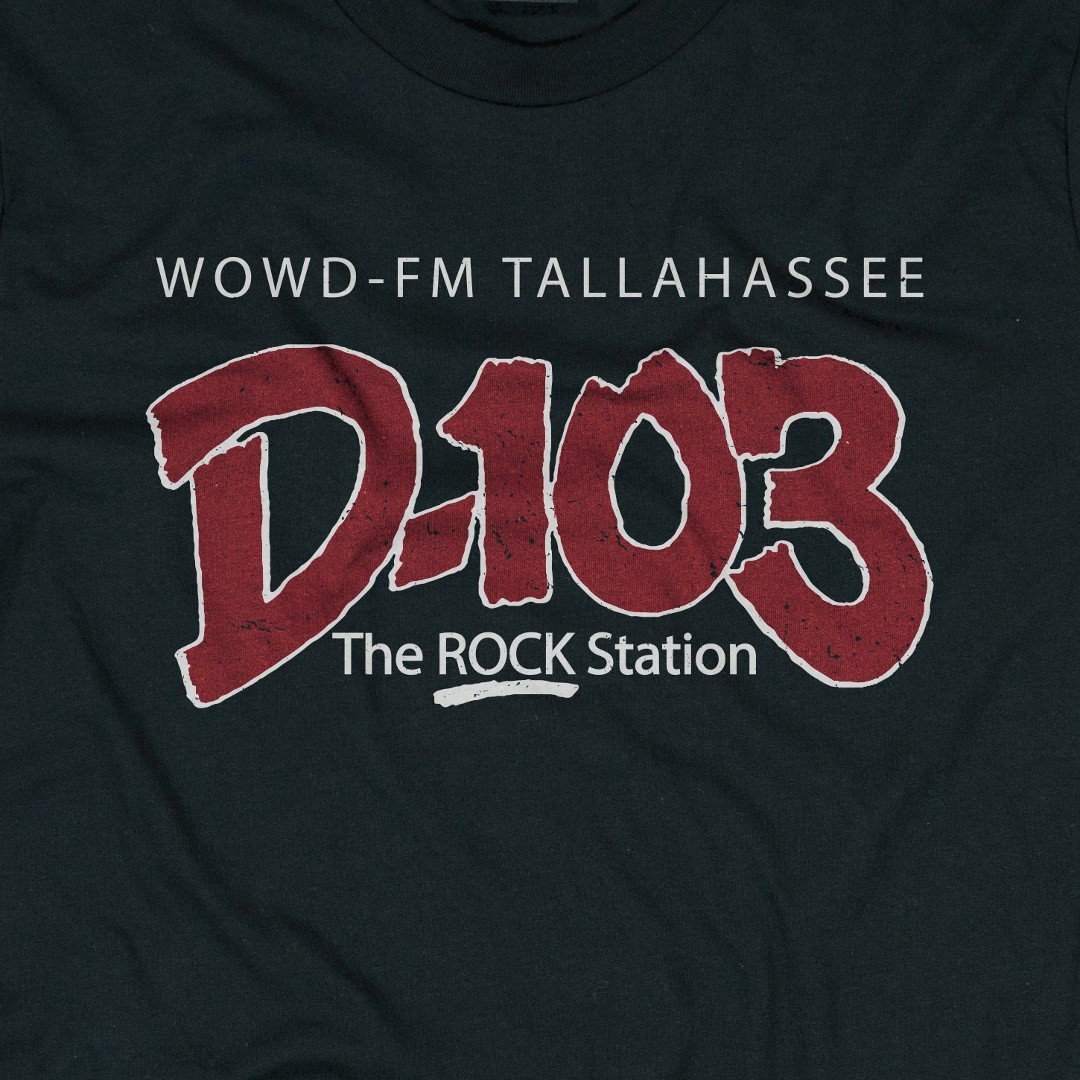 D-103 Tallahassee T-Shirt Graphic Black