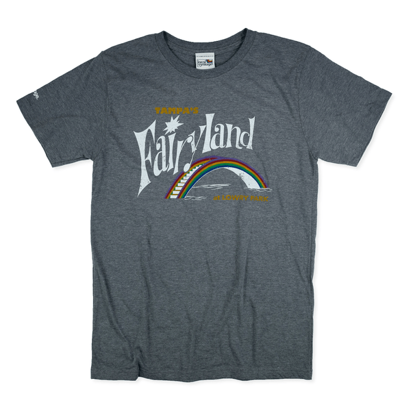 Fairyland at Lowry Park Tampa T-Shirt Front Gray