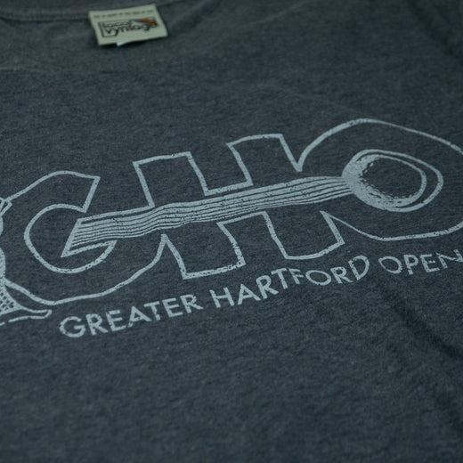 GHO Greater Hartford Open T-Shirt Detail Gray Men's
