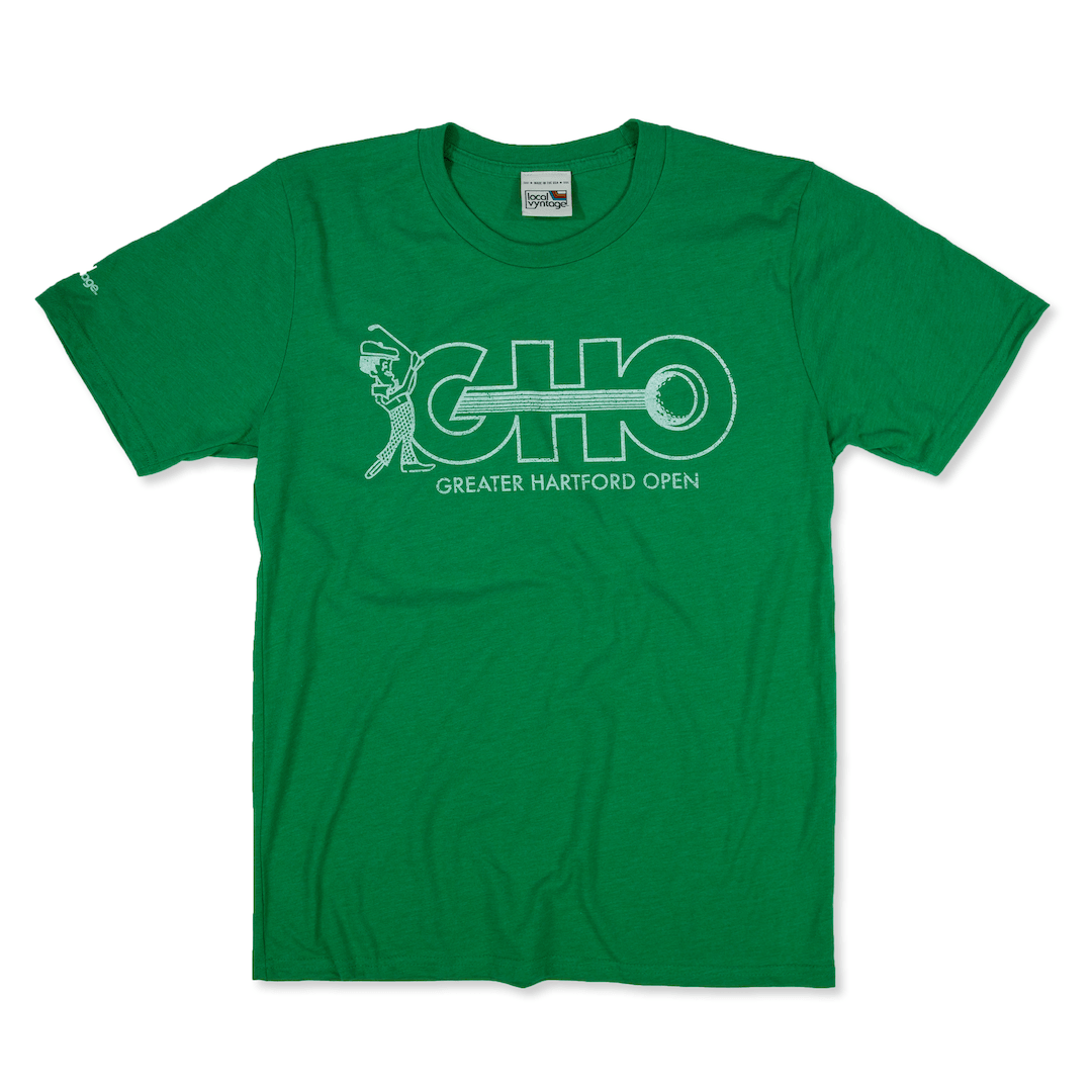 GHO Greater Hartford Open T-Shirt Front Green