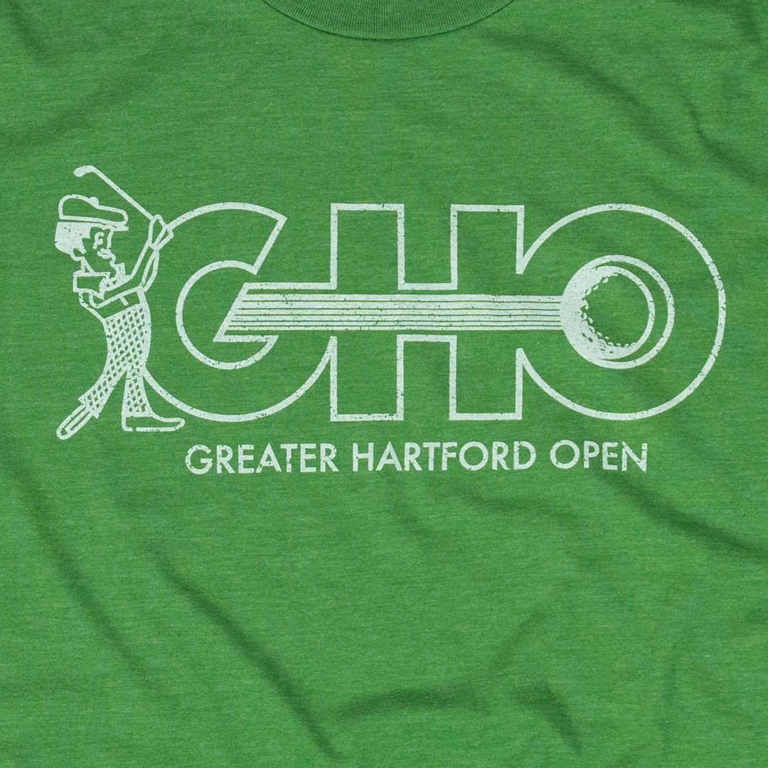 GHO Greater Hartford Open T-Shirt Graphic Kiwi Green