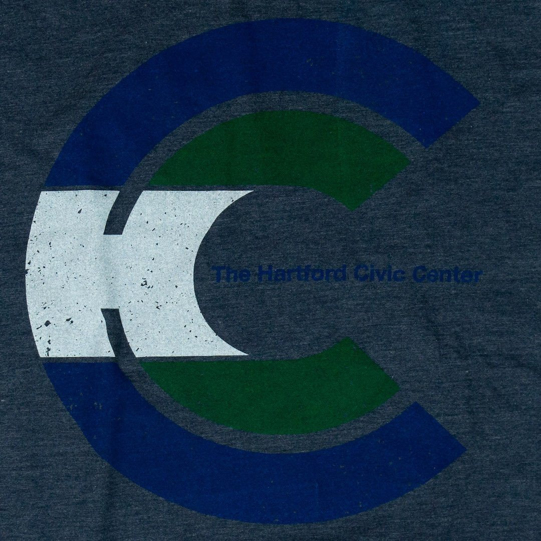 Hartford Civic Center T-Shirt Graphic Dark Blue