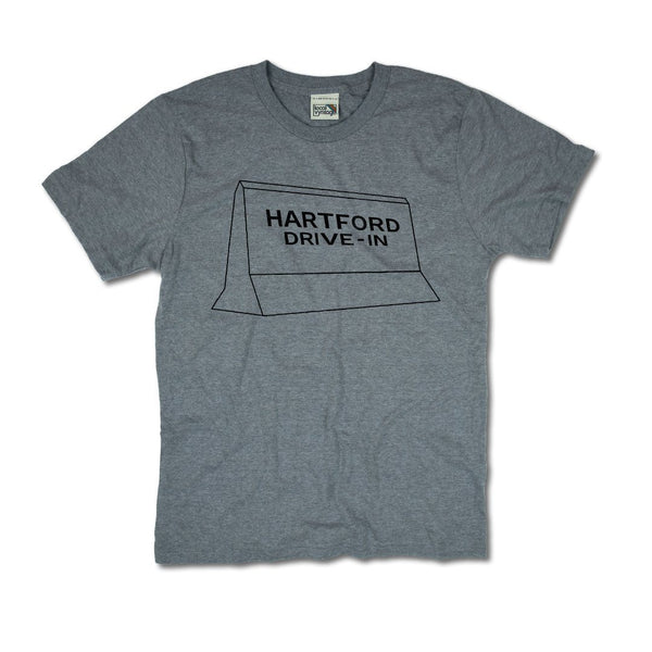 Hartford Drive-In T-Shirt Front Gray